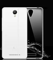 Силиконовый чехол Xiaomi Redmi Note 2 (прозрачный)