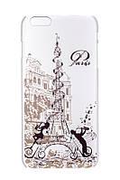 Пластиковый чехол для iphone 6с plus Париж и трубач