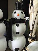 Снеговик стеклянный