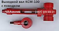 Выходной вал (кулак, вал  взбивателя) и поводок на кремовзбивалку КСМ-100