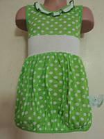 Летнее детское платье, на рост 98 - 104 см.