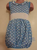 Летнее детское платье, на рост 104 - 110 см.
