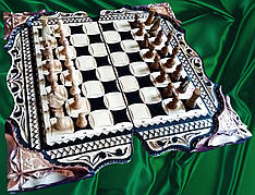 Шахматы-нарды подарочные ** Фентези **