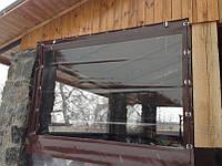 Окна Пвх для деревянной веранды