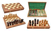 Шахматы деревянные ORAWA Intarsia Орава Интарсия, коричневые, Арт. 3116, фото 1