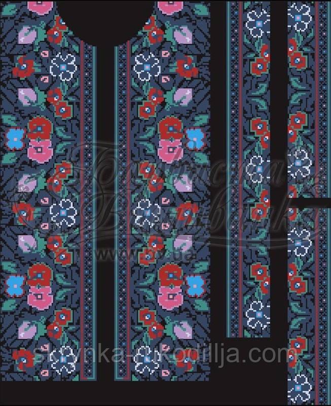 Заготовка чоловічої сорочки для вишивки (домоткана тканина) - СКРИНЬКА.  Товари для вишивки бісером cef8e7f36de32