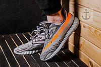 Мужские кроссовки Adidas Yeezy Boost SPLY 350 V2 🔥 (Адидас Изи Буст 350) Серые
