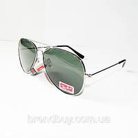 Очки солнцезащитные AVIATOR RB 3025 silver унисекс