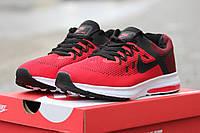 Мужские кроссовки Nike Air Max Thea черно красные / кроссовки мужские Найк Аир Макс Тие, модные