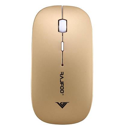 Беспроводная мышь Rajfoo Gold, фото 2