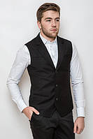 Пиджак без рукавов 2101 (Черный)