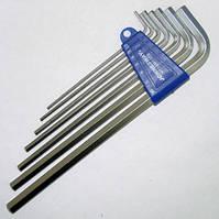 Комплект угловых шестигранников EXTRA LONG 2,5-10 мм