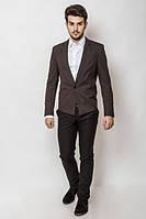 Пиджак мужской , классический 2403 (Коричневый)