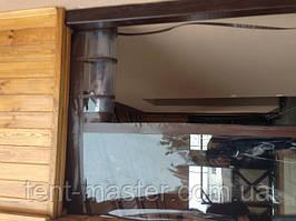 Уличные ПВХ шторы для веранды дома