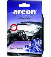 Ароматизатор Areon Aroma Box Black Crystal (под сиденье)