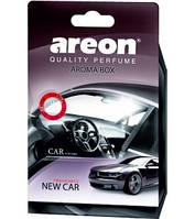 Ароматизатор Areon Aroma Box New Car (под сиденье)