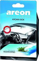 Ароматизатор Areon Aroma Box Ocean Wind (под сиденье)