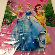 Скатертина дитяча одноразова принцеси дісней 110*180 см