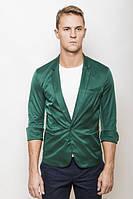 Пиджак мужской с рукавом три четверти 2437/1 (Темно-зеленый)