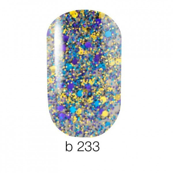 Naomi Brilliante Collection гель лак, 6 мл, №233
