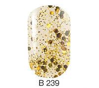 Naomi Brilliante Collection гель лак, 6 мл, №239
