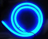 Светодиодный неон, Круглый SL FLEX ( Неон Флекс, FlexNeon) 16 мм. 120-2835 220V Синий