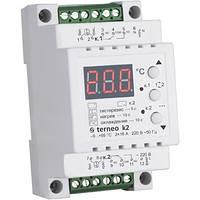Терморегулятор terneo k2 16A, Двухканальный (нагрев /охлаждение) для системы антиобледенения