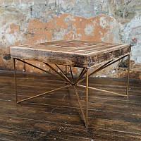 Журнальный стол из антикварного дерева