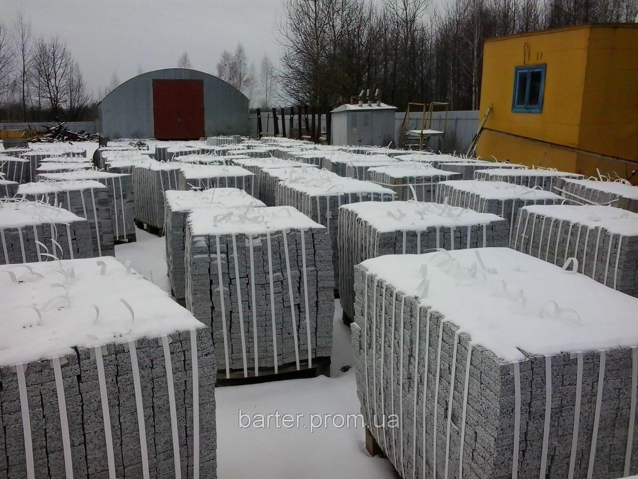 Производство плитки гранитной Покостовка 60*30*3