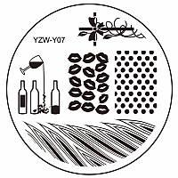 Пластина диск для стемпинга YZW-Y07