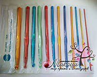 Набор крючков для вязания от № 2 до № 8