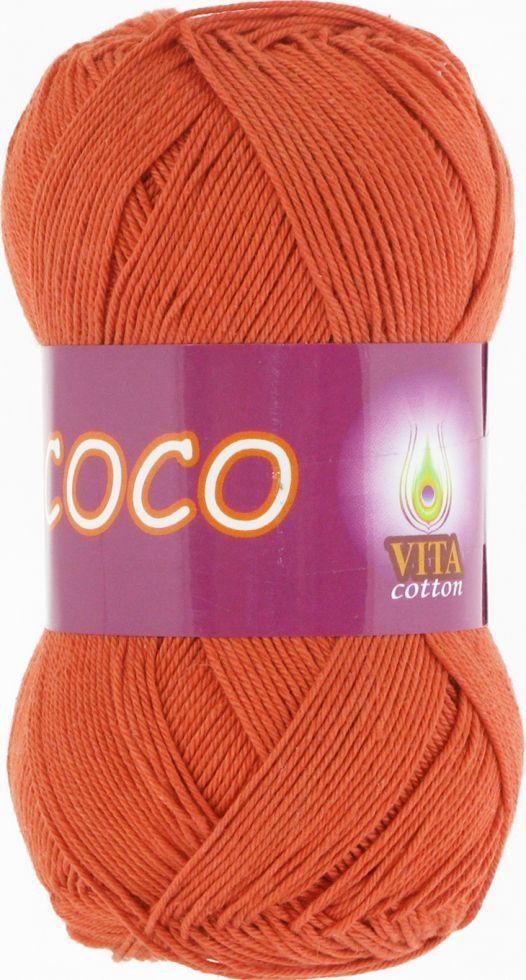 Пряжа Coco (Vita Cotton), 4321, терракот