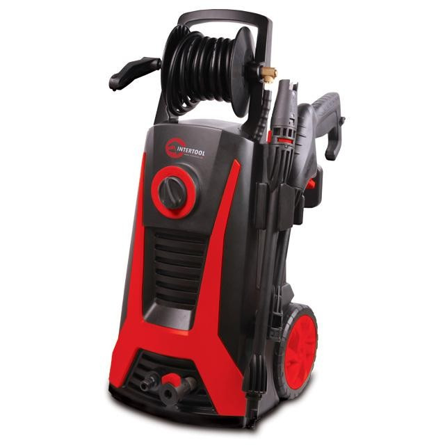 DT-1507 Очиститель высокого давления 2200Вт110-165bar + Подарок WW-0001 Часы наручные INTERTOOL DT-1507.A
