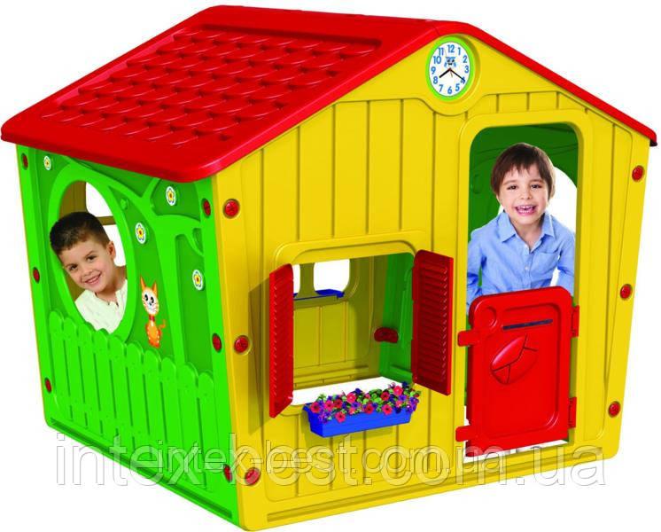 Игра домик, пластик, открываются ставни и двери, артикул 01-561