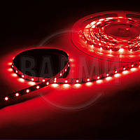 Гибкая светодиодная лента, SMD2835, цвет красный, 60 св./м, 4.8 Вт/м, без влагозащиты, M-TEK