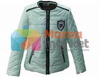 Демисезонная курточка для девочки Baby Angel M 782, цвет мятный