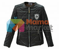 Демисезонная курточка для девочки Baby Angel M 782, цвет черный