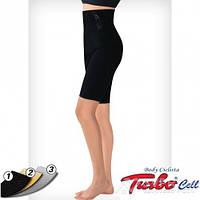 Шорты Turbo Cell удлиненные для похудения Ciclista, черный, 1, фото 1