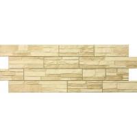 Цокольный сайдинг Docke Фасадные панели коллекции Stein Bernstein янтарный (песчаник)