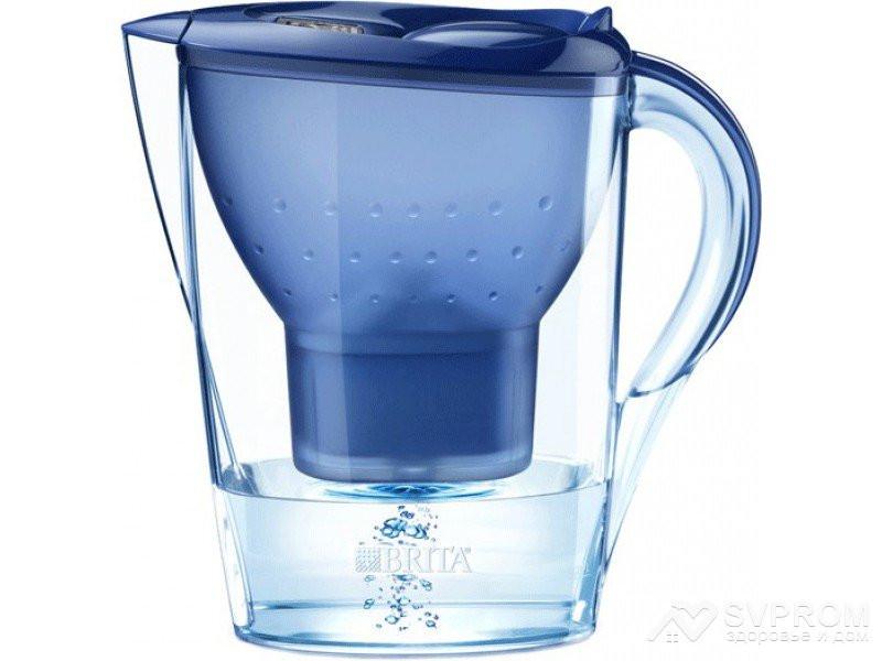 Водоочиститель Кувшин Marella XL, синий, фото 1