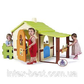Детский игровой пластиковый разборный дом Injusa 2033 , фото 2