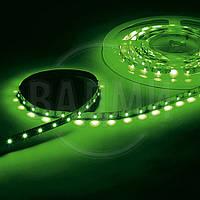Гибкая светодиодная лента, SMD2835, цвет зелёный, 60 св./м, 4.8 Вт/м, без влагозащиты, M-TEK