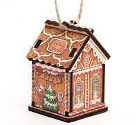 Елочная игрушка Имбирный домик