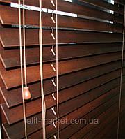 Жалюзи деревянные горизонтальные, фото 1