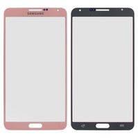 Стекло корпуса для мобильных телефонов Samsung N900 Note 3, N9000 Note 3, N9005 Note 3, N9006 Note 3, розовое
