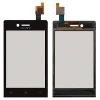 Сенсорный экран для мобильного телефона Sony ST23i Xperia Miro, черный