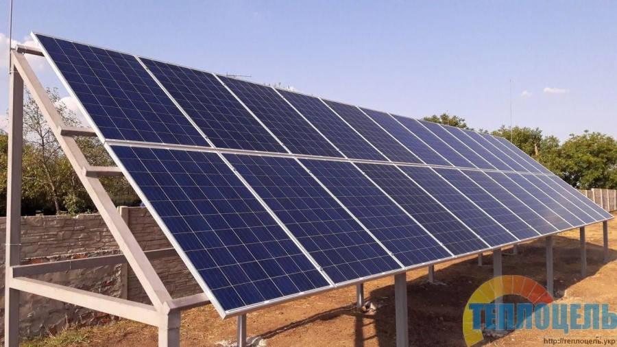 Автономная фотоэлектрическая станция для военного полигона 6,0 кВт