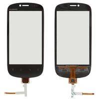 Сенсорный экран для мобильного телефона Huawei U8850, черный