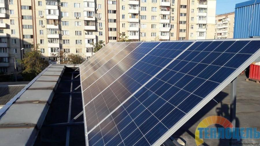 Сетевая солнечная электростанция 2,0 кВт