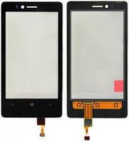 Сенсор (Touch screen) Nokia 810 Lumia черный
